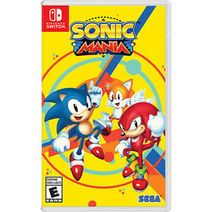 Sonic Mania Switch [Brand New]