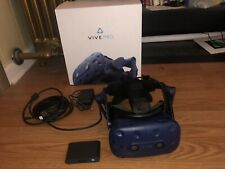 HTC VIVE Pro VR Headset - includes link box, cables, & original box