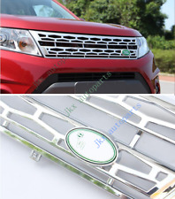 Painting Silver Front Bumper Middle Grille Grill Fit For Suzuki Vitara 2015-17