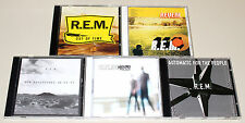 5 CD SAMMLUNG REM - OUT OF TIME REVEAL AUTOMATIC NEW ADVENTURES AROUND THE SUN
