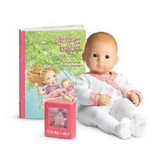 American Girl Bitty Baby BB7 Red Hair & Grey Eyes Retired NEW!! Star and Book