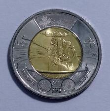 2016 Canada Toonie 75th Anniversary Battle of the Atlantic 2 Dollar Coin UNC