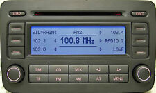 VW RCD 500 Original Autoradio mit 6 CD MP3 VW GOLF CADDY PASSAT TOURAN  / BERLIN