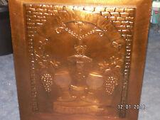 Bild, Kupferbild,zum Wohle , 56 cm x 48 cm
