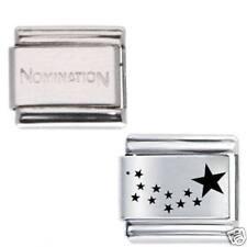 1x Shooting Stars Daisy Charm 1x Genuine Nomination . Bracelet Link Bundle