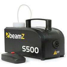 Beamz S500 Machine à brouillard 500W 50m³ + 250ml de liquide