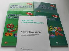 Singapore Primary Math Level 2 + Answer Booklet (US ED)-Textbook/Workbooks 2A+2B