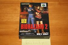 Biohazard 2 (Nintendo 64 N64 JPN IMPORT) BRAND NEW FROM FACTORY CASE, NM, RARE!