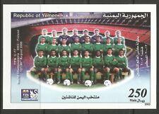 STAMPS-YEMEN. 2003. FIFA Under 17 Youth Team Miniature Sheet. SG: MS276. MNH