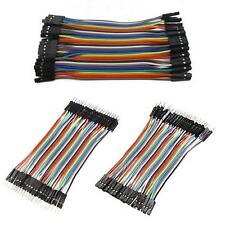 120pcs Dupont Wire Male to Male Male to Female Female to Female Jumper Cable ~