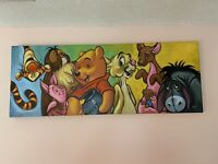 Tim Rogerson Hundred Acre Friends Giclee on Canvas - Disney Winnie The Pooh - LE