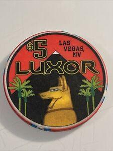 LUXOR $5 Casino Chip Las Vegas Nevada 3.99 Shipping