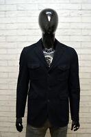 CONBIPEL Uomo Taglia S Giacca Blu Slim Cappotto Blazer da Ufficio Jacket Casual
