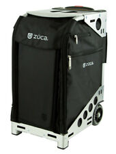 "Pro Travel 19.5"" Suitcase Color: Black / Silver"