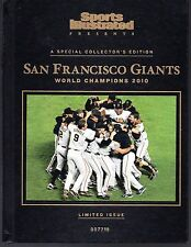 Sports Illustrated San Francisco Giants 2010 World Series Champions Hard Cover