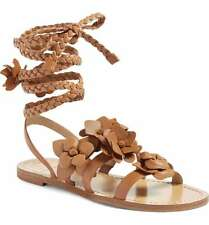6 WHITE WOMEN/'S GLADIATOR SANDALS TORY SIZES