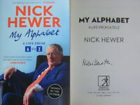 Signed Book My Alphabet by Nick Hewer 2018 Hardback 1st Edition Countdown