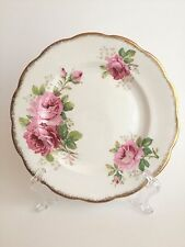 Royal Albert Bone China American Beauty Pink Roses Salad Plate England Vintage