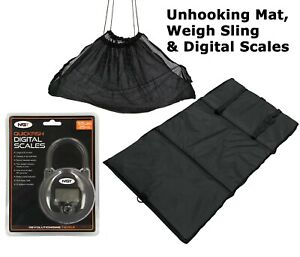Carp & Commercial Fishery Unhooking Mat , 25Kg Digital Scales & Weigh Sling