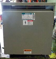 1 Used Siemens 1B1Y050 Single Phase Distribution Dry Type Transformer 50.0 kVa