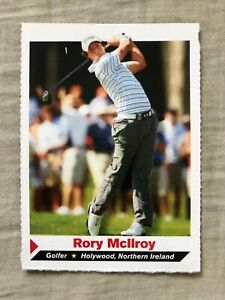 Rory McIlroy 2011 Sports Illustrated for Kids SI golf Rookie Card RC (TINY TEAR)