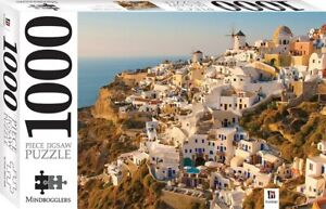 1000 Piece Jigsaw Puzzle - Santorini, The Greek Islands