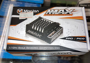 Maclan MMAX Pico 100A Competition Sensored Brushless ESC NEW IN BOX