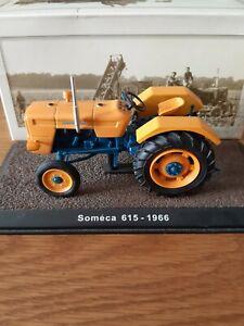 Atlas Editions 1/32 Tractors Someca 615 - 1966  Die Cast Model