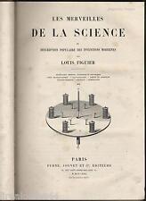 Les merveilles de la science avec reliure merveilles de l'industrie ? vol.2 1868