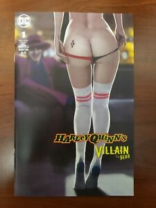 Harley Quinn: Villain Of The Year #1 HQ's Perfect Behind comic with CUSTOM COVER