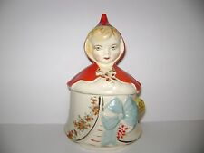 Hull Pottery Little Red Riding Hood Dresser Jar or Grease Jar