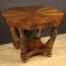 Table Italian For Living Room Furniture Wooden Inlaid Antique Style 900