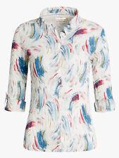 Seasalt Larissa shirt blouse plus size 10 1214 16 18 20 22 26/28 Painted Puffin