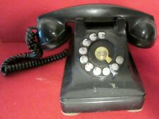 VINTAGE ~ WESTERN ELECTRIC ~ 302 ? ~ ROTARY DIAL ~ TELEPHONE ~ F1W HANDSET
