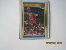 1988 89 MICHAEL JORDAN  Fleer All Star Team #120 Chicago Bulls Iconic Dunk GOAT