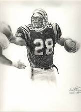 "NFL Cincinnati Bengals Corey Dillon ""GloryBound"" Art by Stangarone. Free S&H"