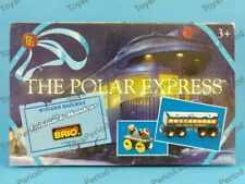BRIO 32504 Polar Express Caboose and Handcar Set Wooden New