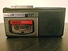 Sony M-750V Microcassette Voice Recorder Player For Parts Only