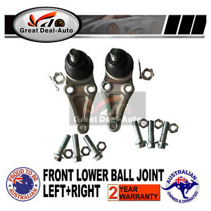 For Mitsubishi Pajero NM NP NS NT Front Lower Ball Joints Set Left & Right  4X4