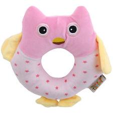 Animal Hand Bells Hand Rattle Doll Plush Baby Rattles Toys Infant Newbron JO