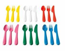 Ikea Children Bowls Plates Cups Cutlery Tableware Multicolor Sets Kalas New