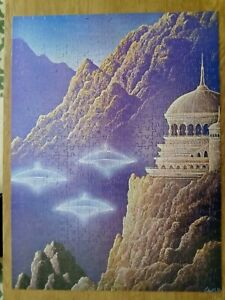 VTG 1978 Projections Gilbert Williams VISITATIONS Puzzle 551 Pieces Made In USA