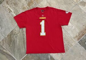 Kansas City Chiefs Leon Sandcastle Reebok Football TShirt, Size Large