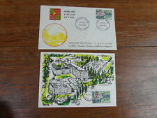 FDC ENVELOPPE PREMIER JOUR FRANCE + Carte Maximum VITTEL 15-06-1963