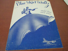 Vintage 1944~BLUE SKIRT WALTZ~Sheet Music