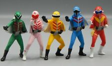 Bandai HG Gashapon GO RANGER super Sentai figure SET gorenger POWER RANGERS !!!