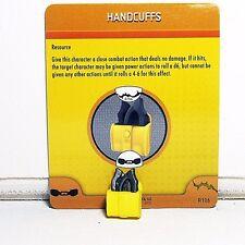 Heroclix Handcuffs #R106, S106 Batman Utility Belt Gadget - FCC