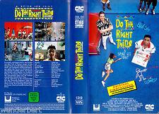 VHS Borchia Lee`s - Do the Destro COSA 1989) Danny Aiello - CIC