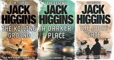 JACK HIGGINS ___ 3 BOOK SET ___ BRAND NEW ___ FREEPOST UK ___