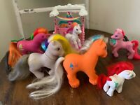 Vintage My Little Pony LOT 1984-19976 LOT of 6 And MLP Stable